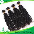 Extensión profunda brasileña del pelo humano de Remy del pelo de la Virgen de la onda de la moda al por mayor del grado 8A