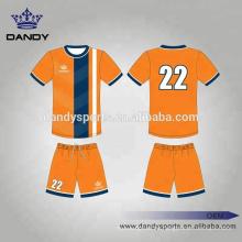 Großhandelskundenspezifisches sublimiertes Fußball Jersey