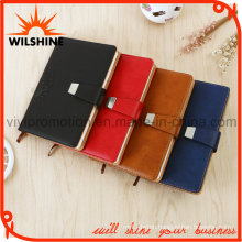 A5 Size PU Leather Diary Notebook with Magnetic Button (PUN401)