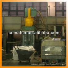 prensa de enladrillar del desecho de metal hidráulica