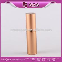 Venda Por Atacado Cosméticos Vazio Creme Produtos 15ml 30ml 50ml 80ml E Rodada Golden Aluminum Atomizer Garrafas