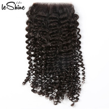 Original And Grade Kenya Afro Kinky Curly Hair Weave Bundle With Lace Closure High Quality With Amazing Wear Effect
