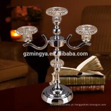 Home decoração clássica titular de luz de velas, vela de estilo tradicional antigo