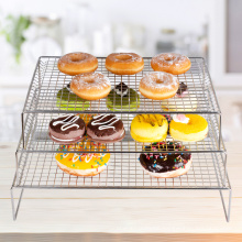 3-tier bakery cooling racks for oven baking kitchen