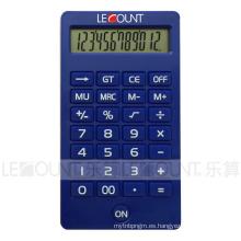 Calculadora de escritorio con pantalla LCD de 12 dígitos con varios colores atractivos (CA1220)