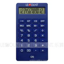 12 dígitos LCD Display Desktop calculadora com várias cores atraentes (CA1220)
