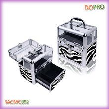 Zebra Pattern Beauty Case for Nail Art (SACMC092)