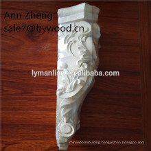 wood capitals unpainted carved wood corbels furniture parts