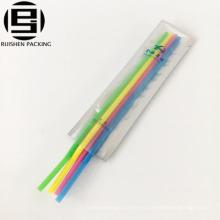 Alibaba oem bolsa de kit de viaje de plástico bolsa de embalaje de cepillo de dientes de plástico a prueba de agua