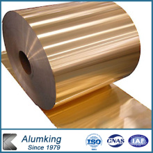 Feuillet en aluminium hydrophile et feuille d'aluminium pour l'air conditionné