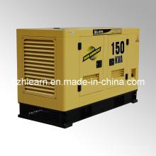 Tipo silencioso diesel refrigerado a água do grupo de gerador (GF2-150kVA)