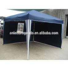 Outdoor Camp Steel Folding Tent Gazebo With Sidewall