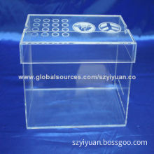 Acrylic Display Showcase, Customized Logo Engraving and Gluing No BubblesNew