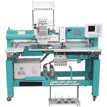 Single sequin embroidery machine with towel device