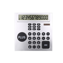 12 Digits Desktop Calculator with Big Size Plus Key