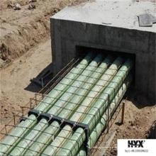 Tubo de revestimiento de cable resistente a químicos y resistente a los productos químicos hecho por FRP