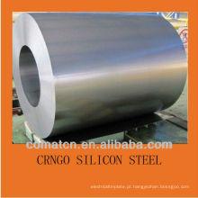 CRGO transformador elétrico aço 27Q110, 30Q120 para a produção de laminação EI