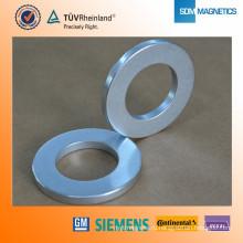 Профессиональные подгонянные высокотемпературные кольца N42 магниты
