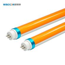 WISCOON factory Pink 1700K 1900K  T8 UV LED TUBE 2ft 4ft 5ft yellow T5 led tube light