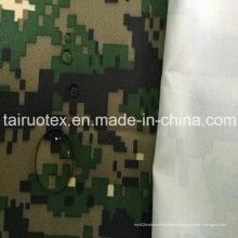 Tela de camuflaje militar de 100% poliéster Oxford con revestimiento blanco