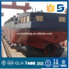 Airbag de navio de borracha anti-explosão usado para construção de pontes flutuantes e docas