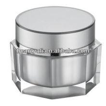 Frasco de acrílico cosmético único de lujo para el empaquetado