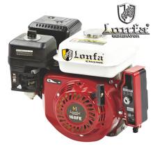 Motor de gasolina portátil de arranque eléctrico de un solo cilindro de 4 tiempos