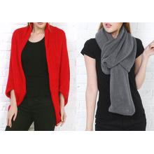 Écharpe de chandail de tricot de foulard magique tricoté des femmes (SK146)