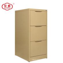 luoyang huadu prevent fall down 3 drawer steel filing storage cabinet vertical file cabinet