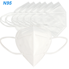 CE/FDA 5ply KN95 Disposable Face Mask