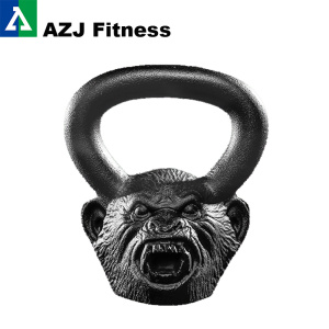 18LB Howler Monkey Animal Rosto Kettlebell