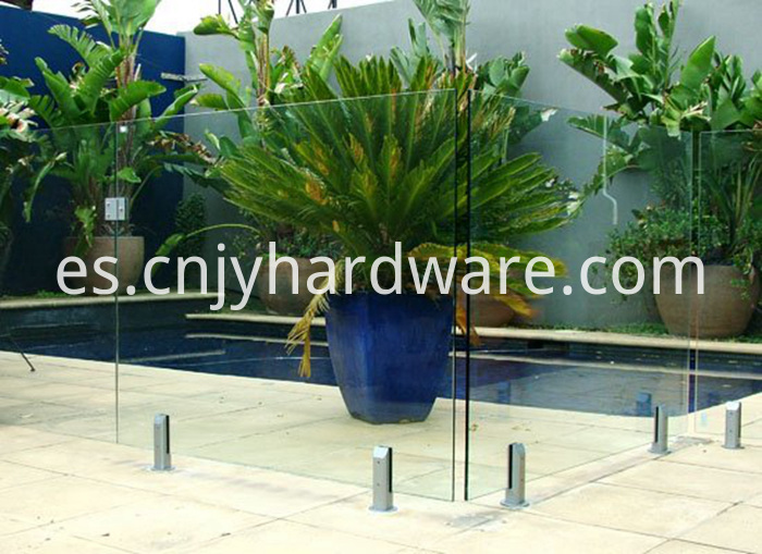 Frameless Glass Stainless Steel Pool Fence Spigot