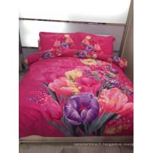 Vente en gros d'usine de vente directe le plus récent lit de design 3d, ensemble de literie, 3 d ensemble de literie à bas prix