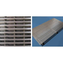 Wedge Wire Screen Blatt