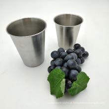 Caneca pequena do curso do café dos copos bebendo do metal de aço inoxidável de Drinkware