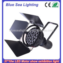 37x10w led pure white car exhibition/motor show par light