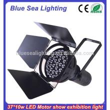 37x10w led pure white car exhibition/motor show par light