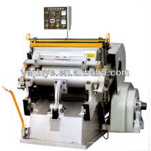 Máquina vincando RML1200 quente e corte