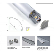 1616 V Shape Aluminum Profile for Corner Lighting