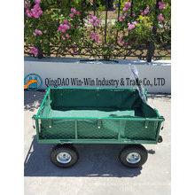 Tc 1845 carrinho de jardim com 3.50-4 roda de borracha pneumática