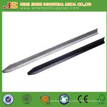 Factory Direct Heavy Duty High Quality High Grade Steel Black Bitumen Star Picket