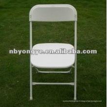 Chaise pliante en plastique pour fête
