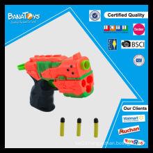 Kids eva soft bullet gun toy for kid shoots plastic bullet toy gun