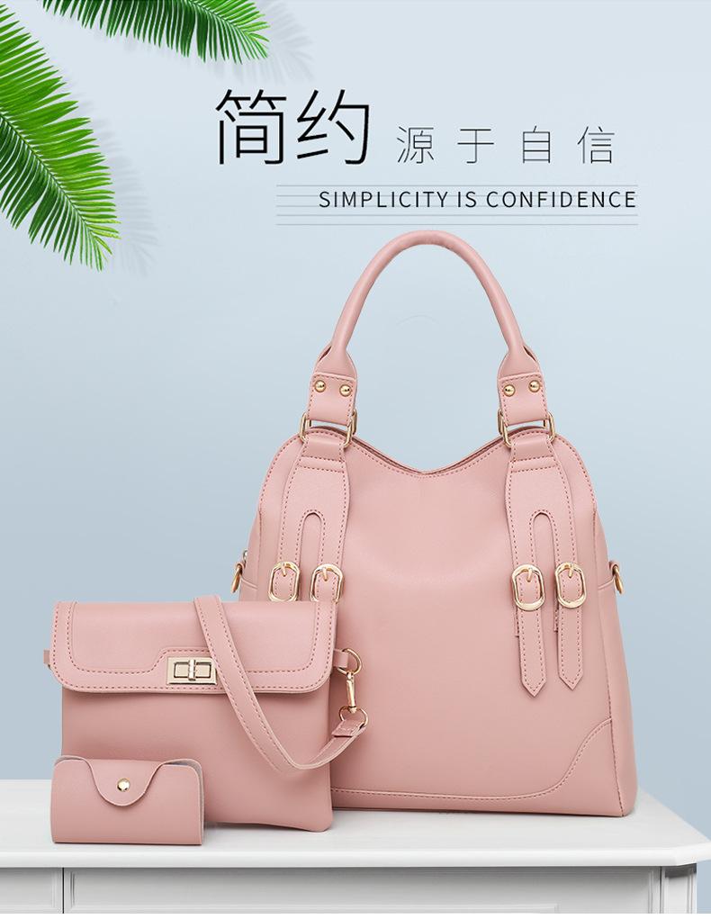 Pattern Genuine Handbag for Women