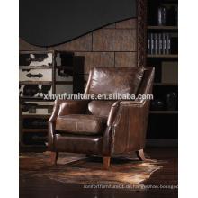 Französische Art Land Einzel-Sofa für zu Hause verwendet A622