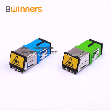 SC/PC Fiber Optic Adaptor Adapters Connectors with Shutter