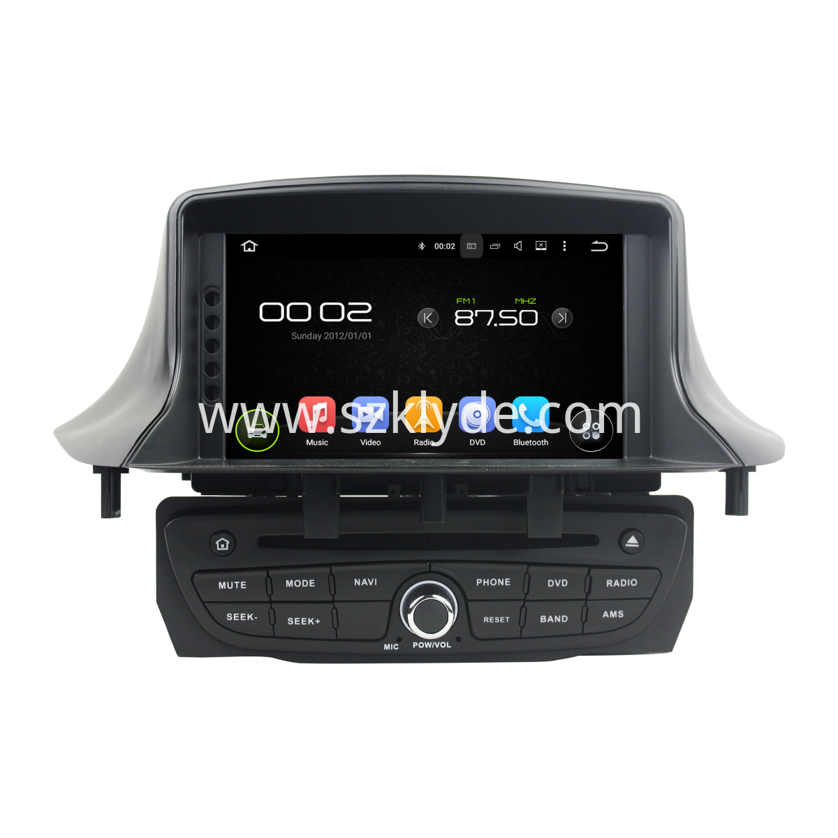 Android 6.0 Car DVD For Renault Fluence III