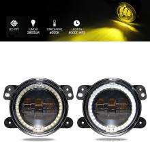 30W DRL 4 Inch LED Fog Lights Yellow Color for SUV off Road Car LED Fog Lamp 10-30V
