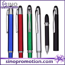 2 in 1 Multifunktions-Kugelschreiber Gummi-Tipp Touch Pen