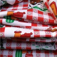 100% Polyester Mini Matt Stoff für Tischdecke / Kleidung